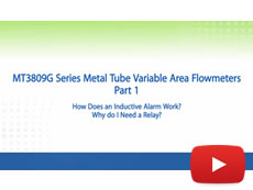 Brooks Instrument Tutorial: MT3809G Metal Tube Flowmeters & Inductive Alarms