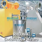 Rheonik Coriolis Flow meter