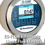 ES-FLOW Low-Flow Ultrasonic Liquid Flow Meters / Controllers