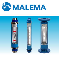 Malema 6000 Series Glass Tube Rotameters